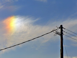 Sundog above old A&P building