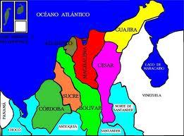 Ubicacion De La Region Caribe