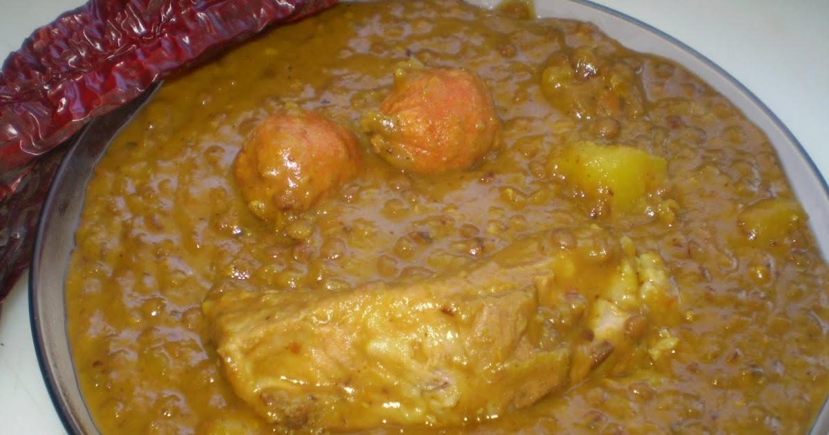 Te invito a mi cocina lentejas con choricitos y costillas - Lentejas con costillas y patatas ...