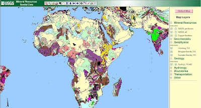 FREE GIS Remote Sensing Spatial Hydrology Data GLOBAL Mineral