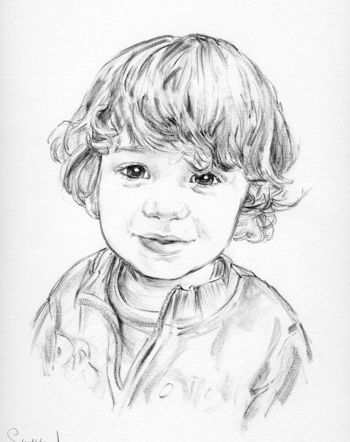 Pencil portraits poole