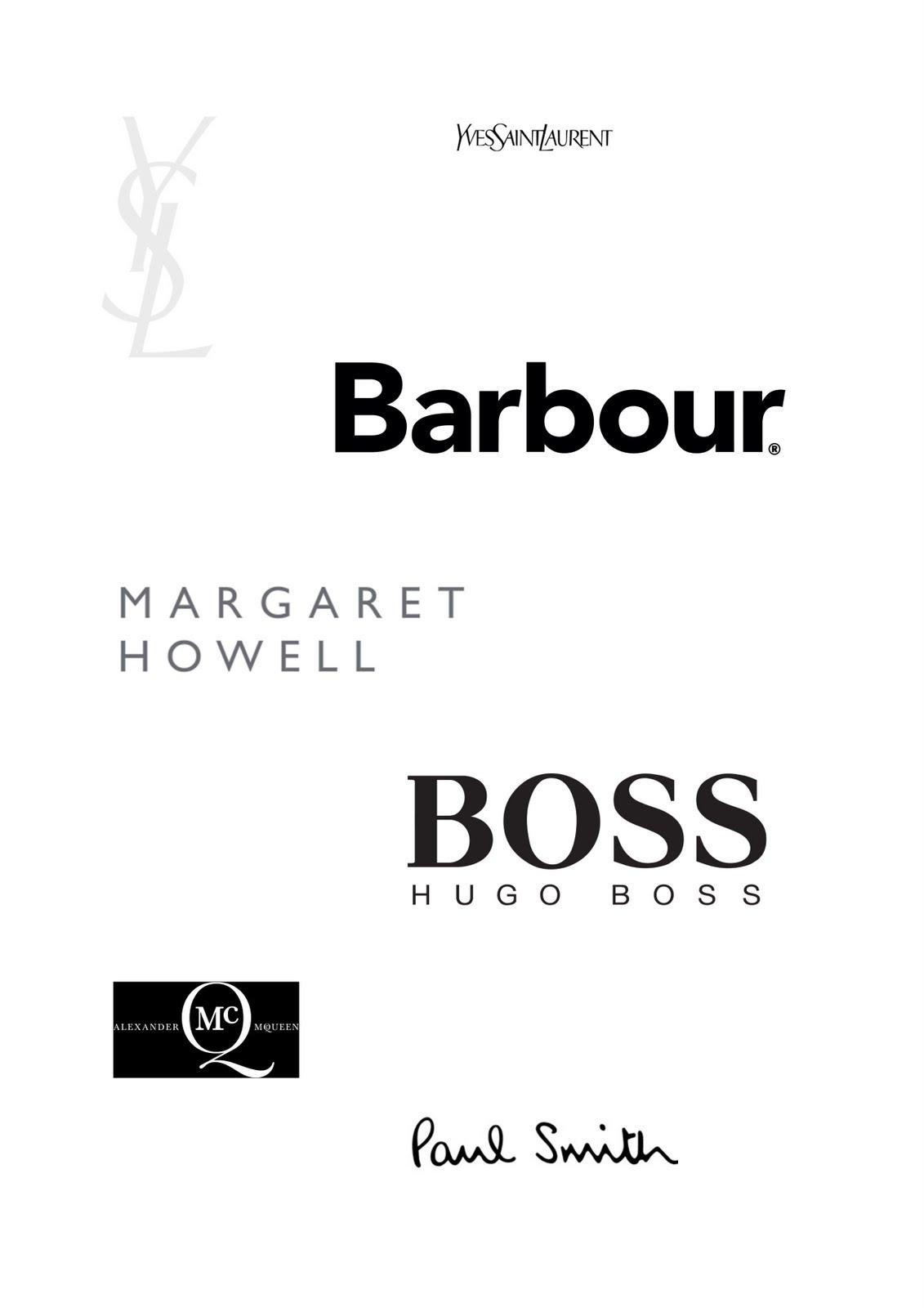 seminal ephemera high end fashion logos