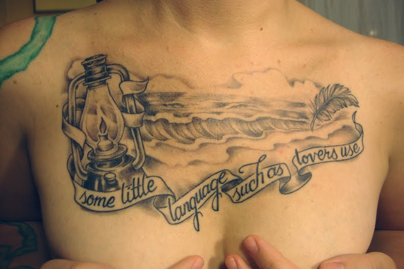 ... someday literary tattoos will overtake band tattoos in popularity