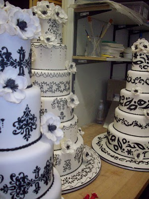 cake boss wedding cakes black and white. cake - this wedding cake