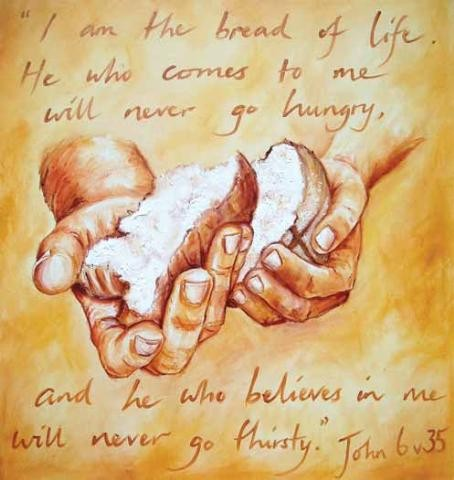 jesus is bread of life 