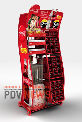 Display Coca-Cola combina