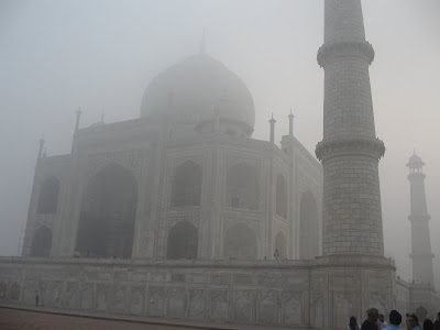 Taj Mahal through my mobile camera