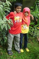 adik dan Abang.