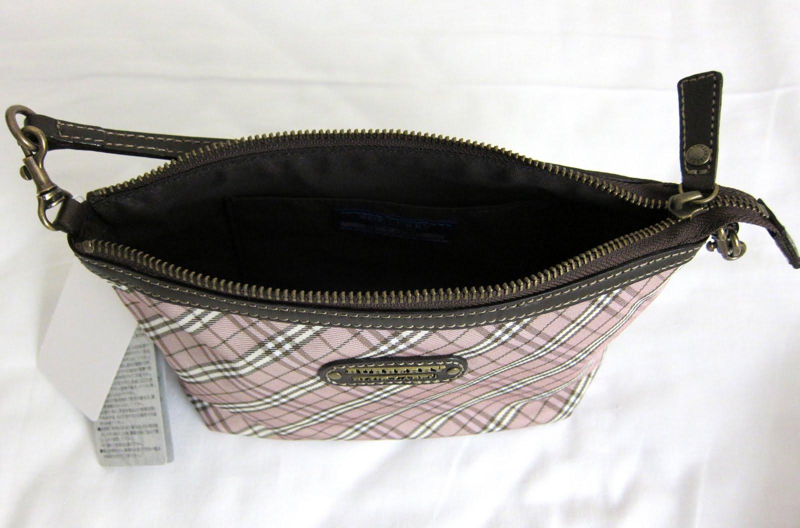 a7c050ee43ec Adore  Sale! BURBERRY Blue Label Clutch Shoulder Bag