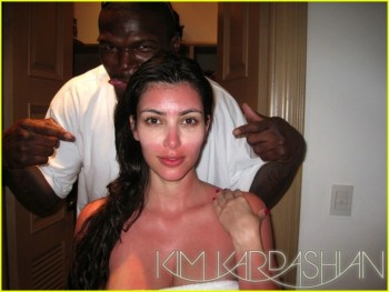 Kardashian Husband on Kim Kardashian Beat By Ex Husband    Oops There It Is
