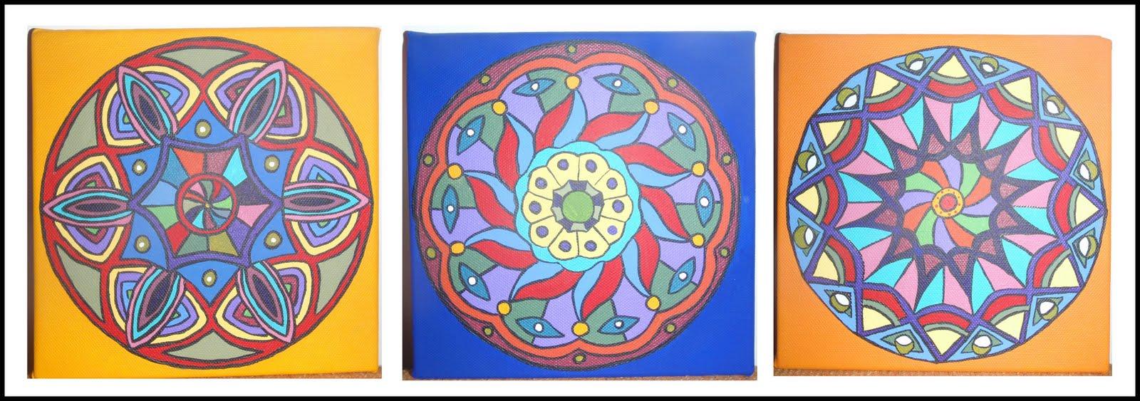 El mito de helena cuadros mandalas - Cuadros mandalas ...