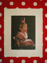 Fabric Board with Minnie Photo