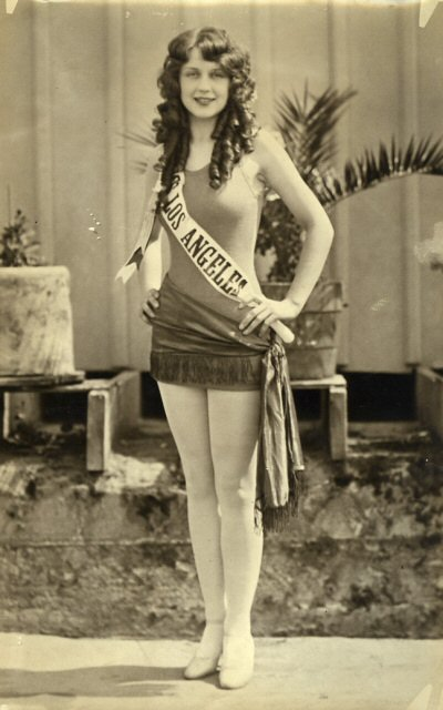 California girl, Adrienne Dore - Miss America 1925