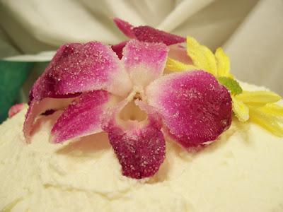 Orange-Blossom Cake with Orange-Blossom Buttercream and Candied ...