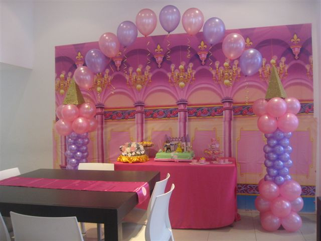 Decoraciónes princesas bebés - Imagui