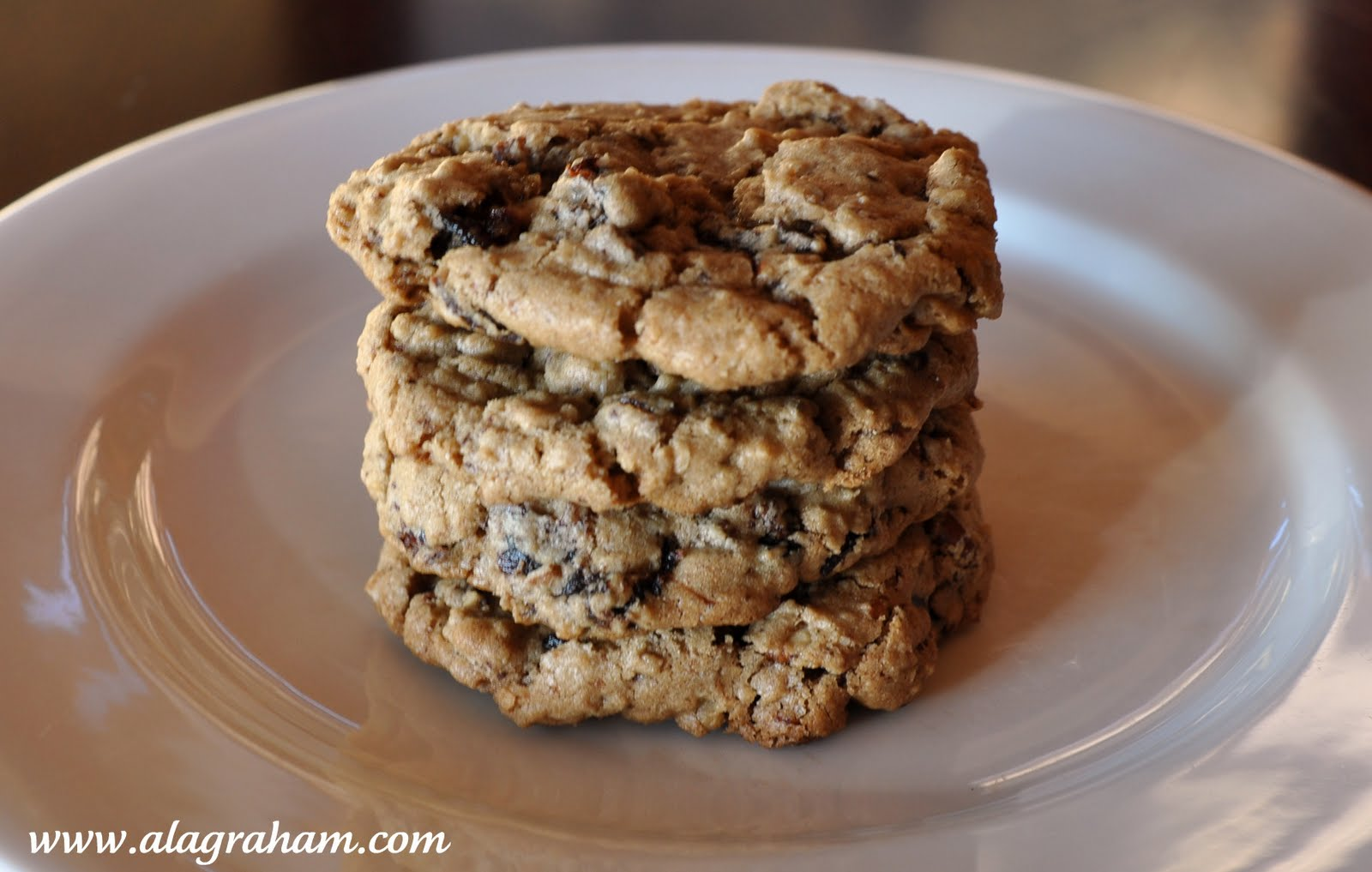 Chocolate Chip Oatmeal Cookies With Cherries + Pecans Recipes ...