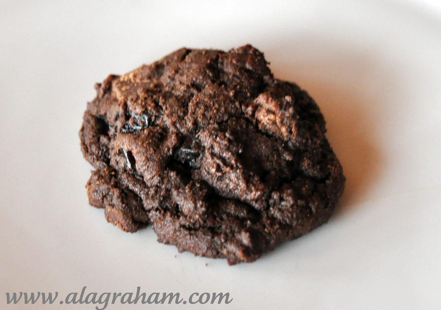 LA GRAHAM: DOUBLE CHOCOLATE CHERRY ESPRESSO COOKIES