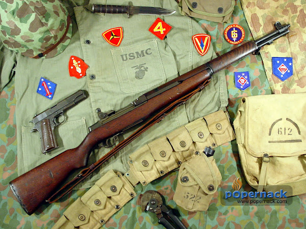 World War II Marine gear