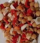 receta ensalada garbanzos