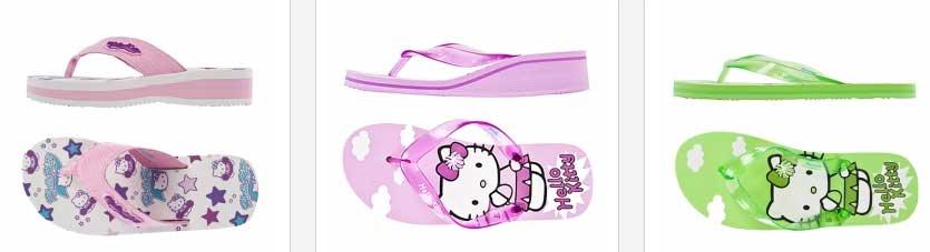 Zapatillas, bailarinas y sandalias Hello Kitty para niñas y chicas jovenes