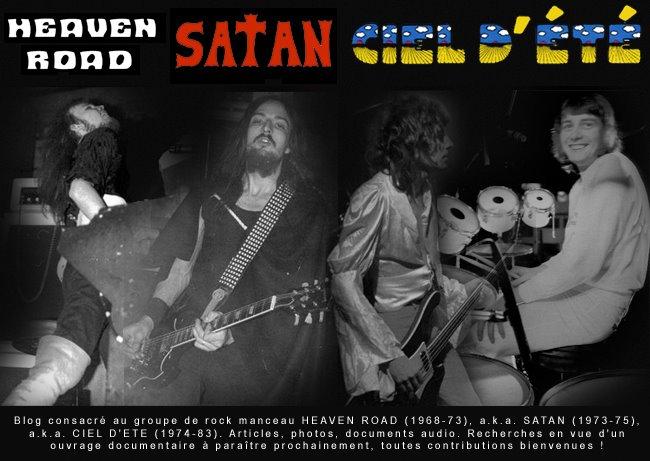 HEAVEN ROAD / SATAN / CIEL D'ETE