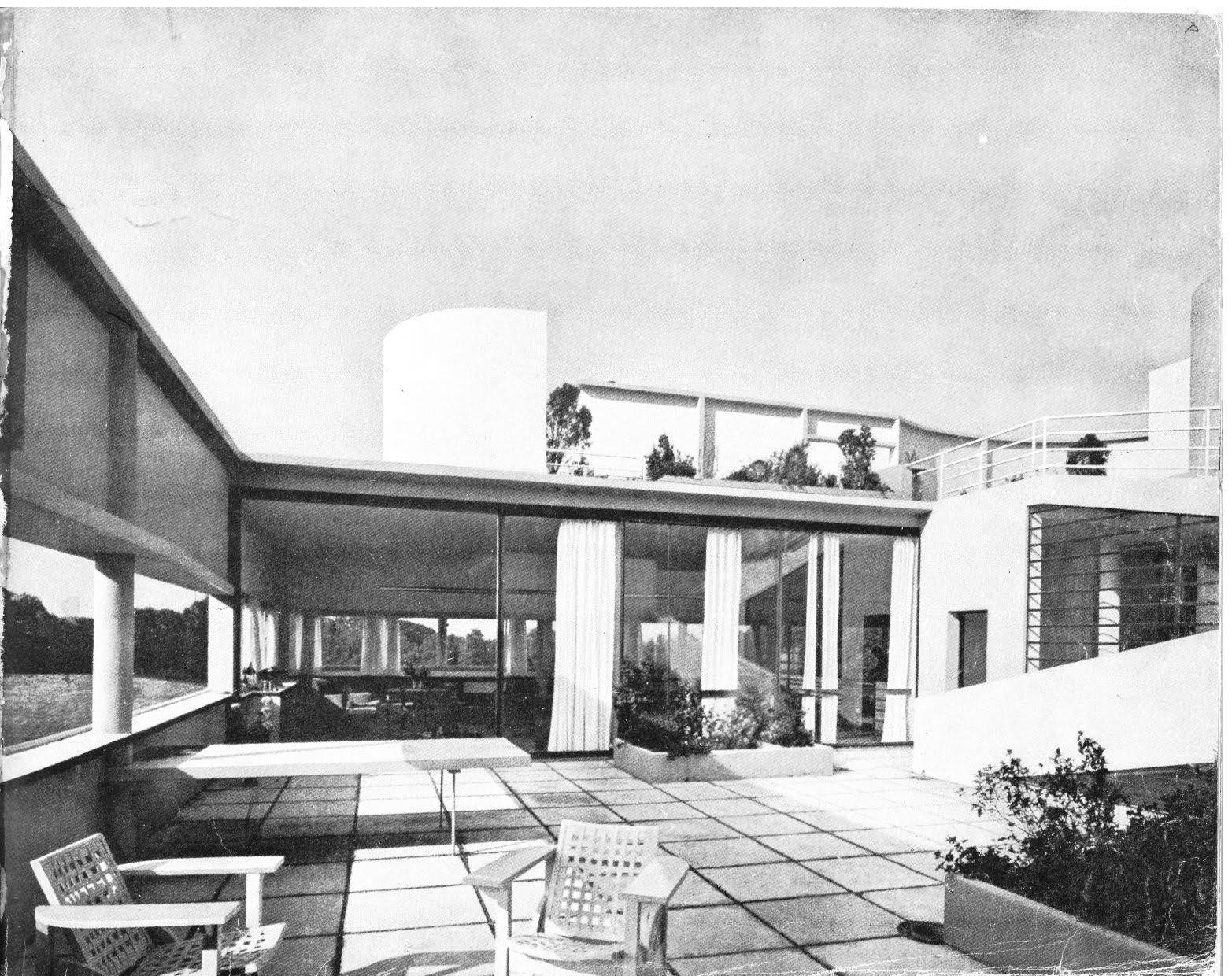 Cavica proyectos de arquitectura maison savoye 1928 30 - Casas de le corbusier ...