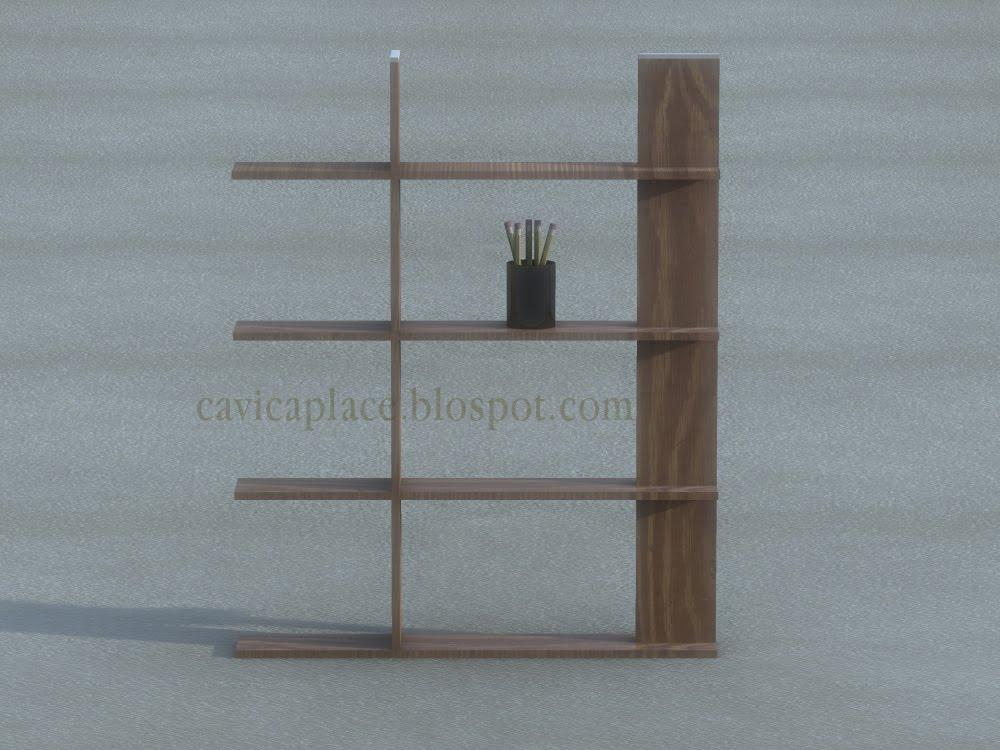 Cavica proyectos de arquitectura librero de madera - Proyectos de madera ...