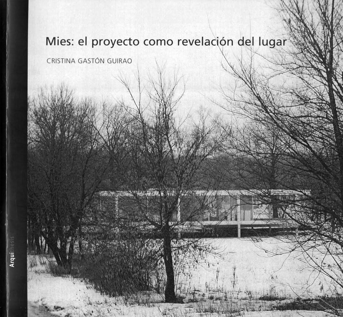 Cavica proyectos de arquitectura gaston cristina mies for Arquitectura tecnica ua