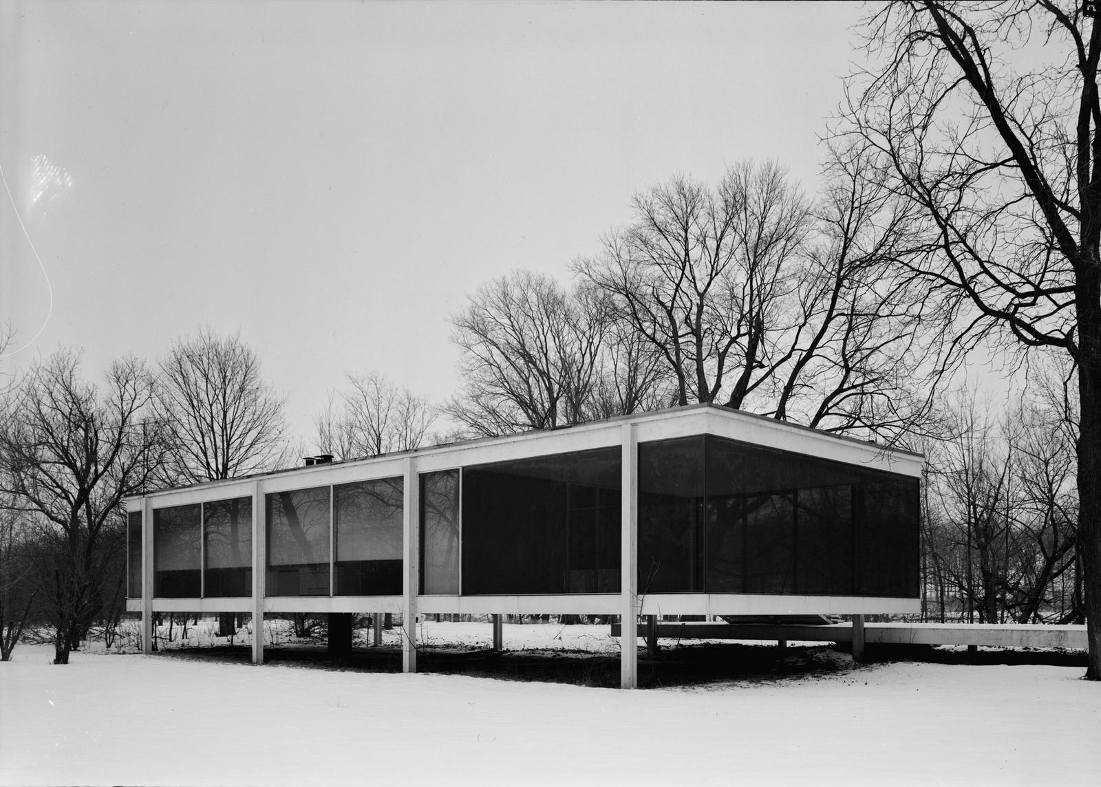 Cavica proyectos de arquitectura casa farnsworth - Casa farnsworth ...