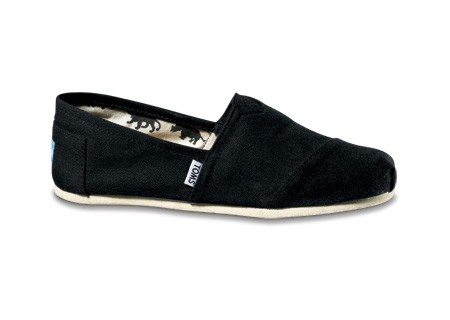 toms shoes - Black Canvas