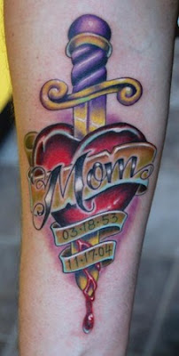 Loving Memory Tattoos   on Tattoo Me Now   Mom Memorial Tattoos   Tattoo Me Now