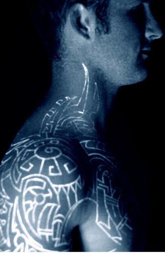 black light tattoos for men
