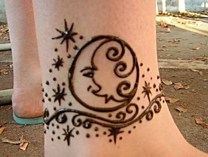 henna body art designs