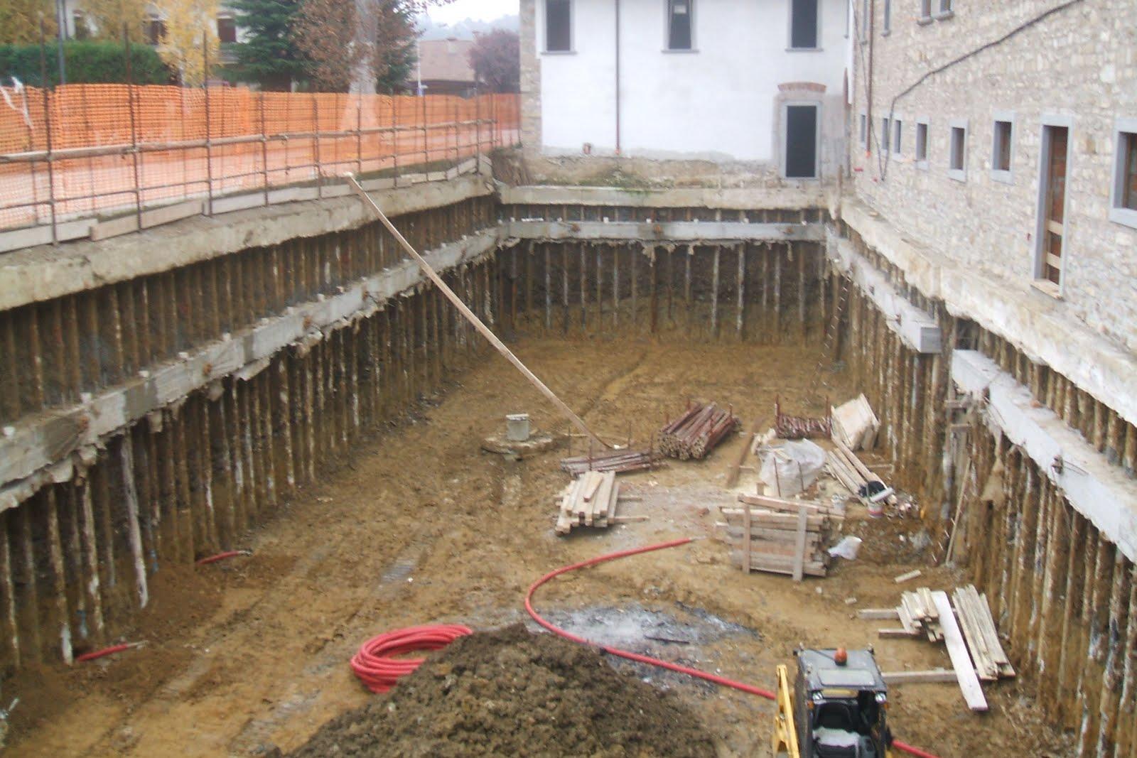Ingforum leggi argomento paratia usata come muro interrato for Costo per costruire un edificio