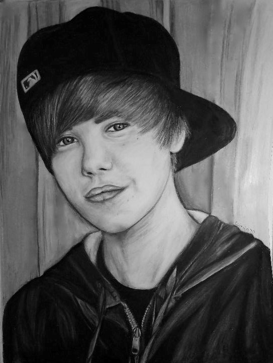 Pictures Of Justin Bieber Drawings. hot justin bieber drawing