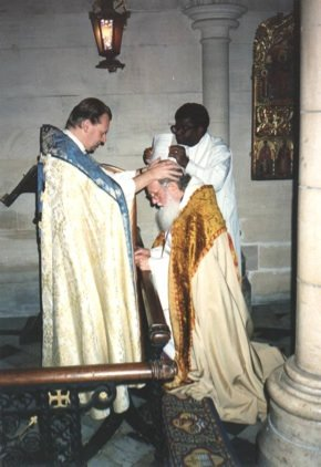 The Episcopate word, breath and laying on of hands