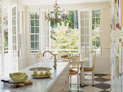 Kitchen Designs for French Doors