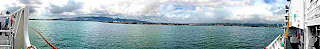 Pearl Harbor panorama looking west from Ford Island Sept 2007