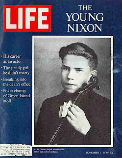Young Richard Nixon played the violin
