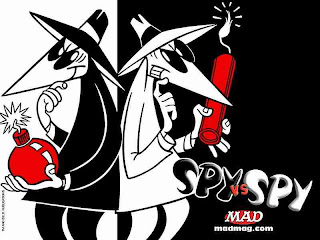 Spy vs Spy by Antonio Prohías
