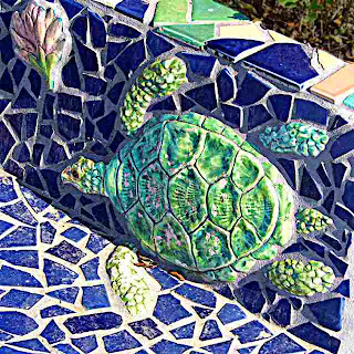 turtle FotoBuster mosaic kiosk Altadena CA