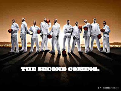 The Second Coming, Nike television commercial