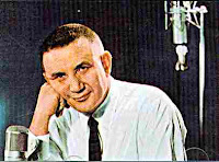 Raymond Scott looking like he doesn't care to have his picture taken