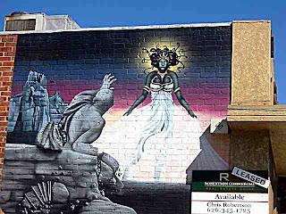 wall mural - Old Pasadena CA
