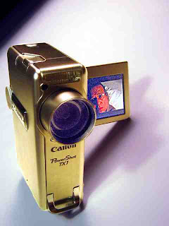 My new Canon TX1 - (c) David Ocker
