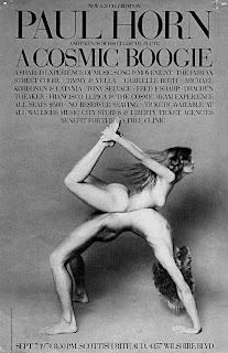 Paul Horn - A Cosmic Boogie (picture Johanna Van Zantwyk)