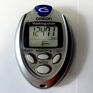 wonderful Omron pedometer