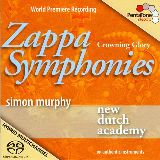 New Dutch Academy album cover - Zappa Symphonies