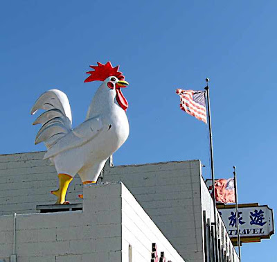 Poulty Market sign in Los Angeles Chinatown - (c)David Ocker