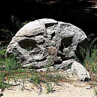 Mount San Jacinto State Park stone face (c) David Ocker